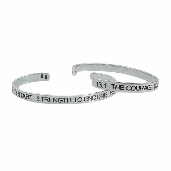 13.1 Courage To Start Cuff Bracelet