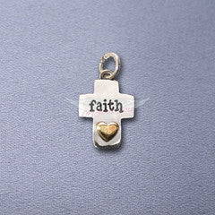 Faith Cross Charm