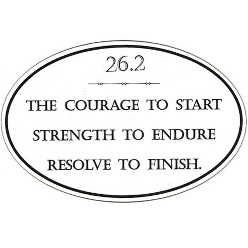 26.2 Courage To Start Magnet