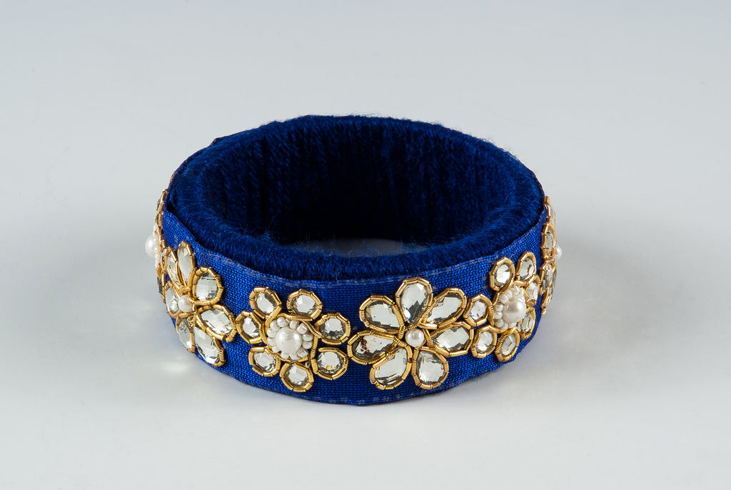 Bohemian Bazaar Blue Bangle