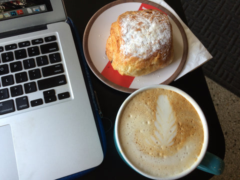 Laptop and Coffee | Ethical Fashion