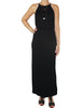 Black Maxi Dress Front / Ethical Fashion