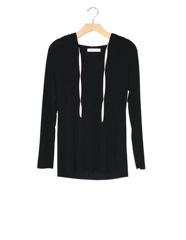 Black Tee-Hoodie / Ethical Fashion