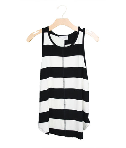 Black and White Tank / Ethical Fashion