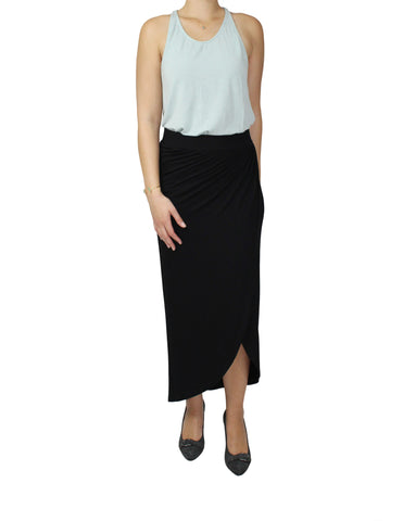 Black Tulip Skirt Front / Ethical Fashion