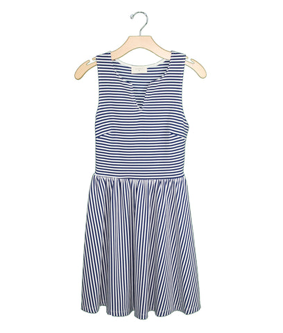 Nautical Stripe Dress / Ethical Fashion