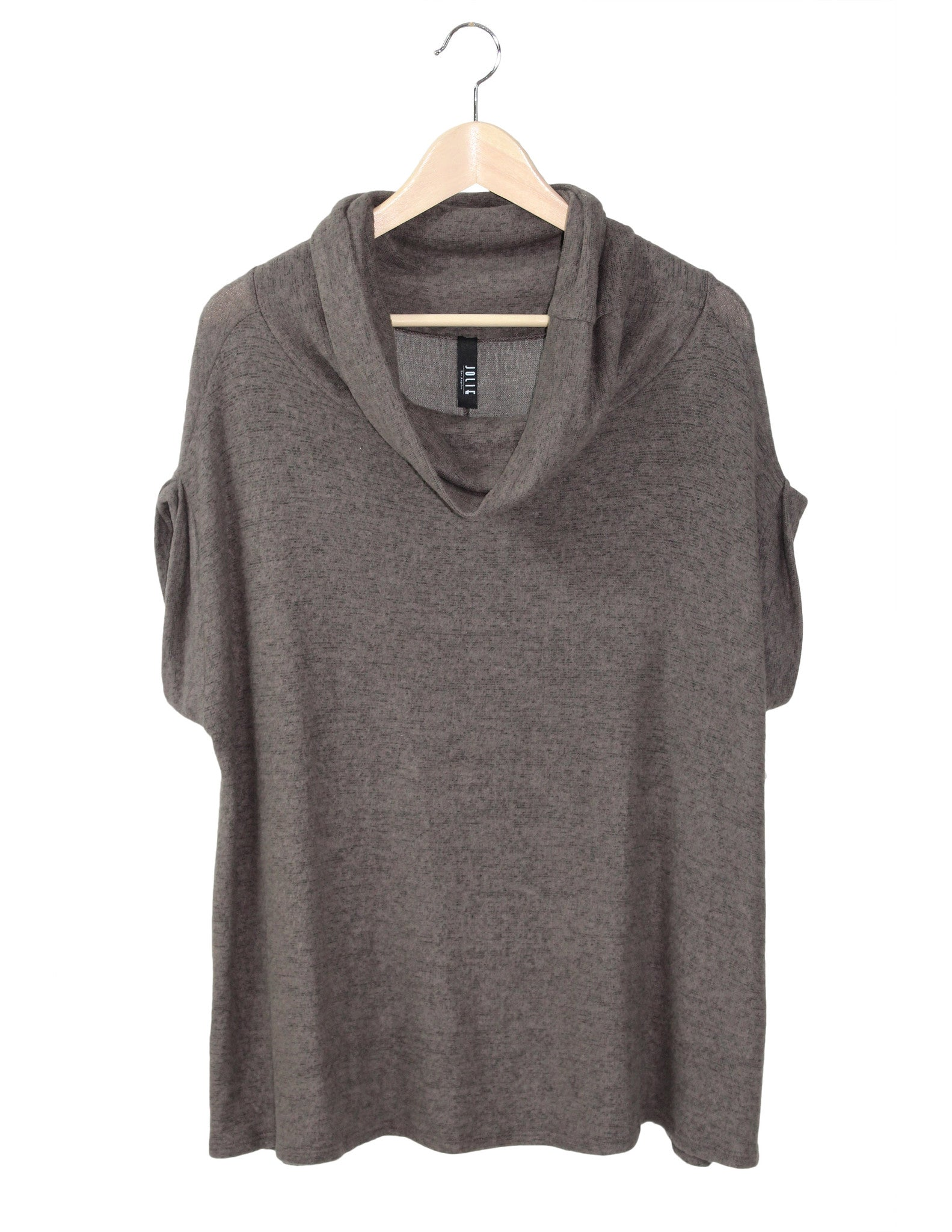Cozy Cowl Neck Tunic / Ethical Fashion