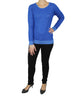 Cobalt Blue Sweater (Front) / Ethical Fashion