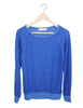Cobalt Blue Sweater / Ethical Fashion