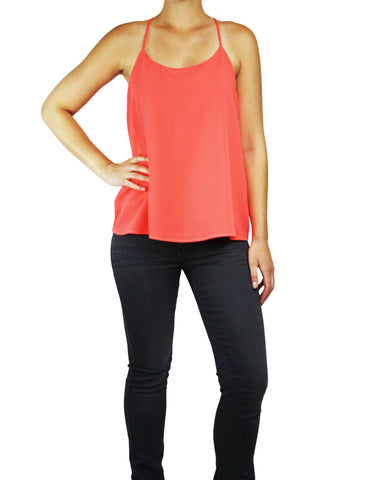 Coral Swing Tank (Front) / Ethical Fashion