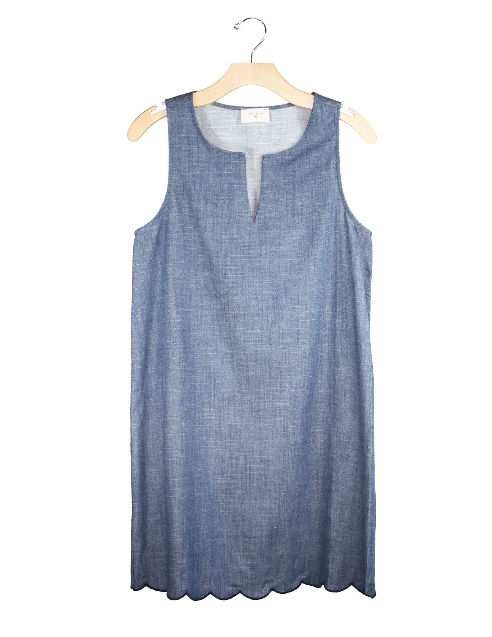 Light Chambray Dress