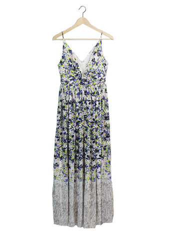 Watercolor Floral Maxi Dress | Ethical Fashion
