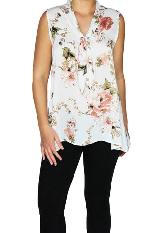 Floral Tie-Top | Made in America | Ethical Fashion