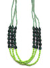 Green Ombre Necklace / Fair Trade Jewelry