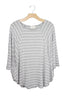 Grey Stripes to You Top