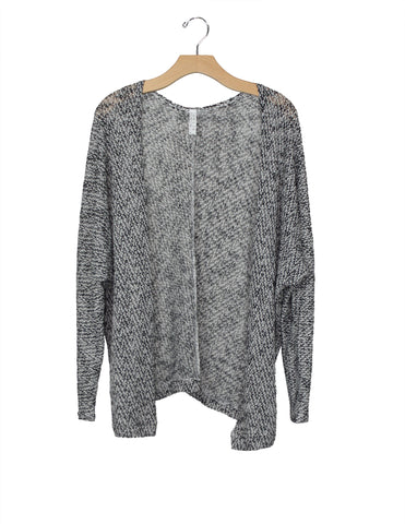 Grey Open Cardigan / Ethical Fashion