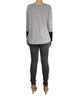 Grey Top with Side Zip (Back) / Ethical Fashion