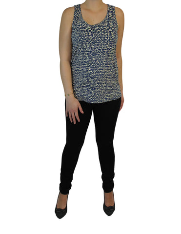 Fair Trade Blue Dot Tank (Top) / Ethical Fashion