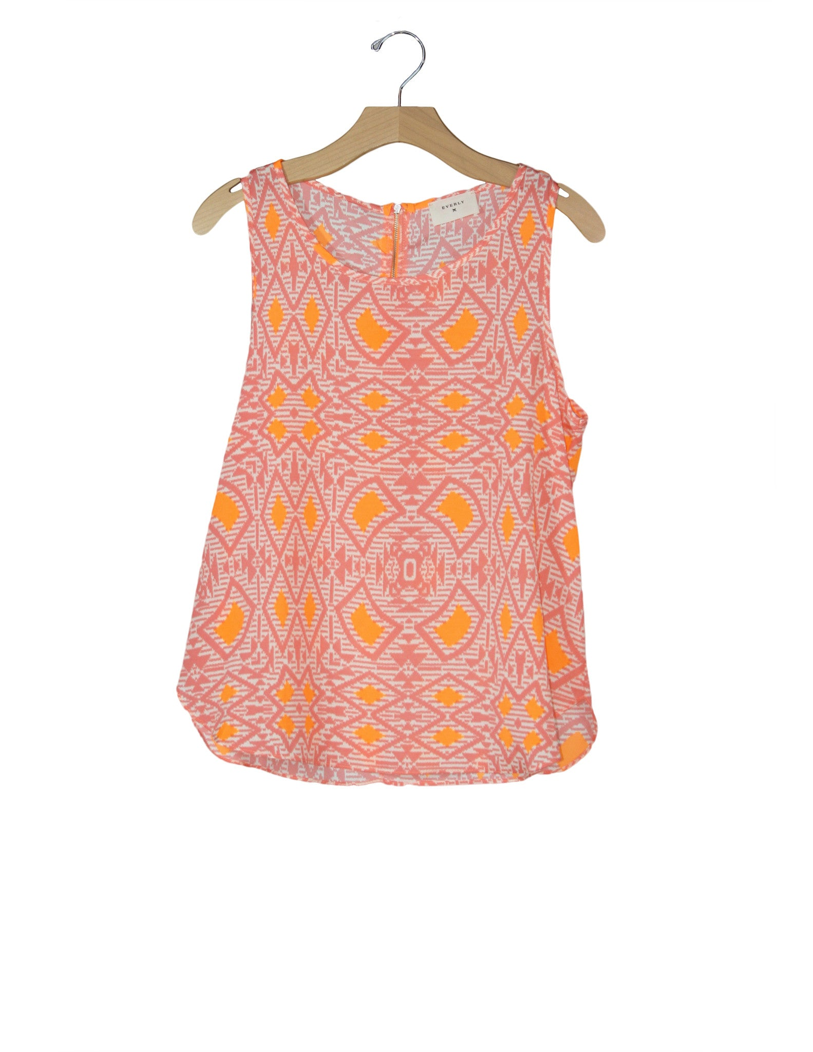 Orange Sorbet Top / Ethical Fashion