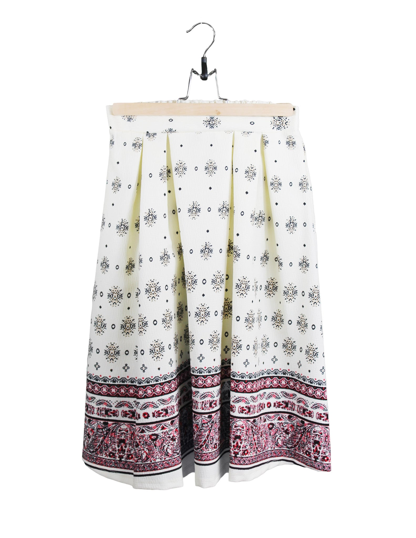 Dainty Patterned Skirt / Ethical Fashion