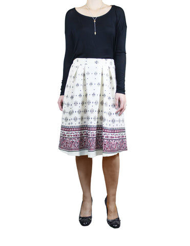 Dainty Patterned Skirt (Front) / Ethical Fashion