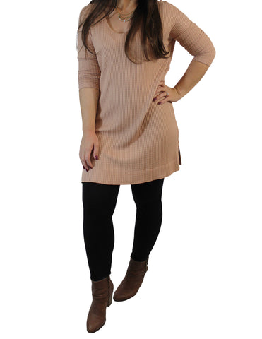 Peach Tunic (Front) / Ethical Fashion