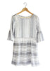 Stripe Peasant Dress | Made in America