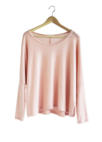 Blush So-Soft Oversized Sweater | Made in America
