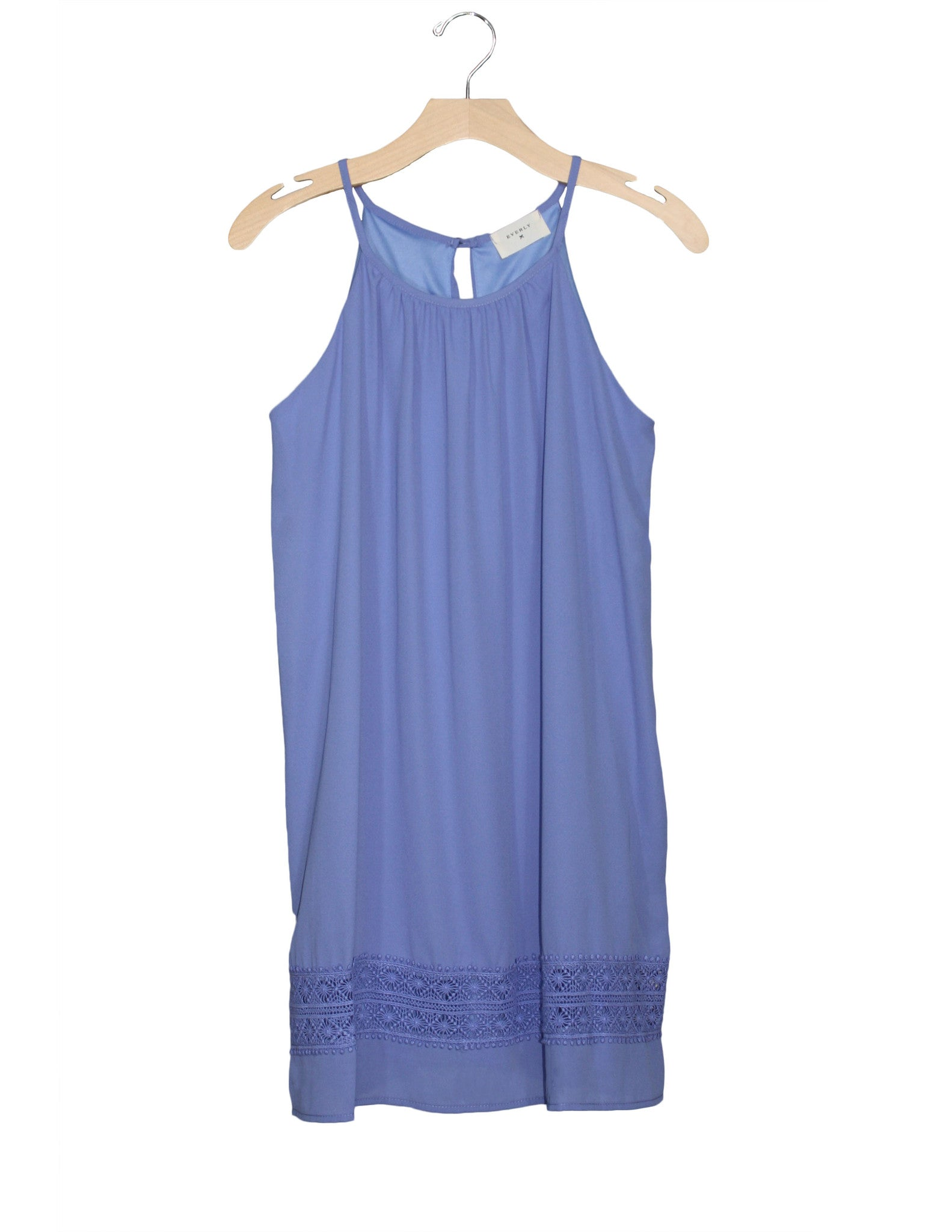 Porcelain Blue Shift Dress / Ethical Fashion