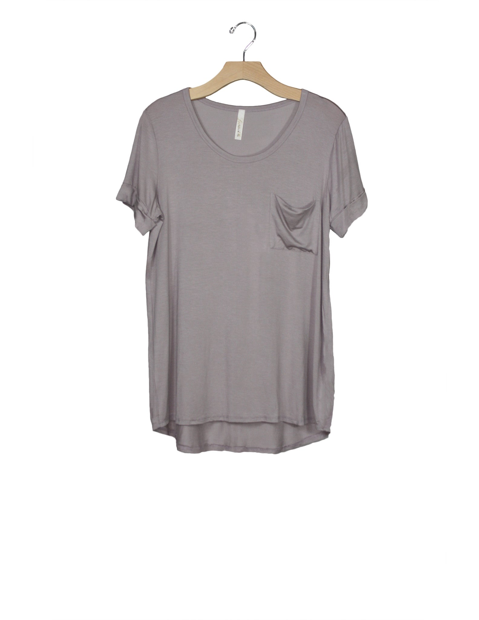 Lilac Grey Top / Ethical Fashion