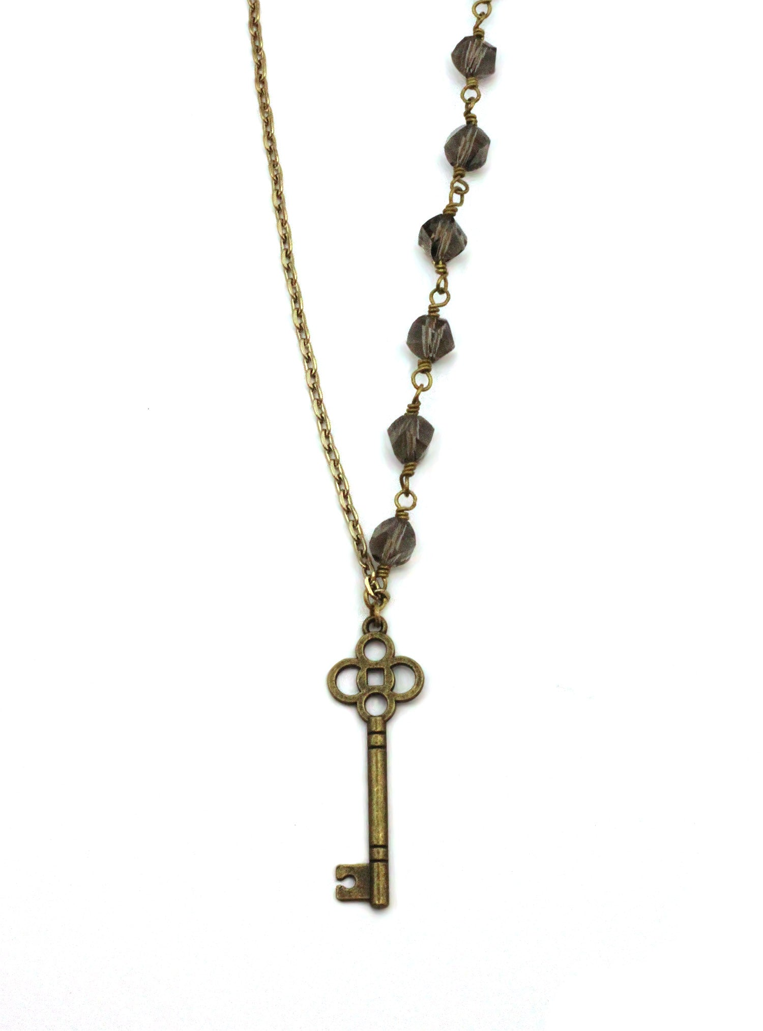 Ethical Jewelry | Vintage Key Necklace