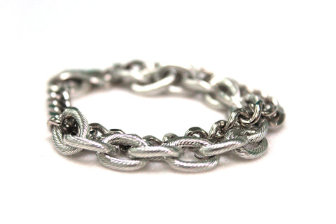 Stacked Chain Bracelet