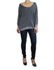 Rustic Grey Sweater (Front) / Ethical Fashion