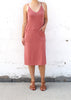 Salmon Pocket Dress | Made in America Fashion