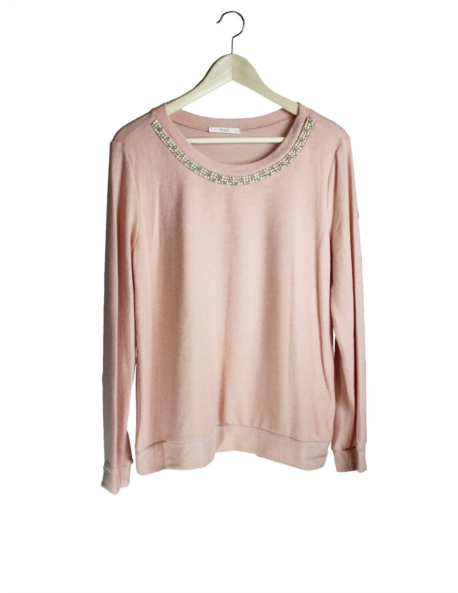 Pink Glitzy Sweater / Ethical Fashion