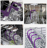 Stemware Saver Flexible Dishwasher Set of 4 pcs Silicone Wine Glass Protector