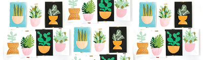 DIY Construction Paper House Plants
