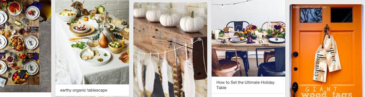 Friday Finds | Thanksgiving DIYs and Inspiration