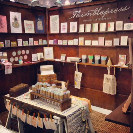 My booth at the 2013 National Stationery Show