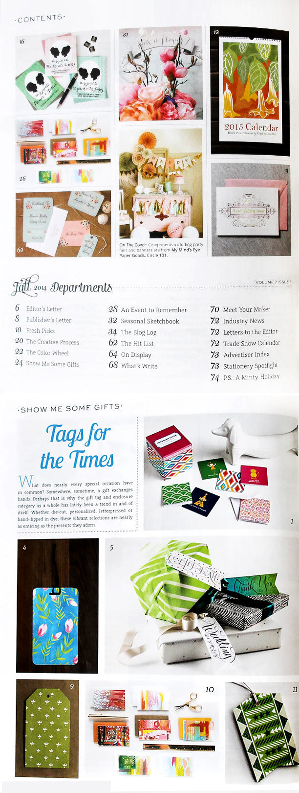 Stationery Trends | Fall 2014