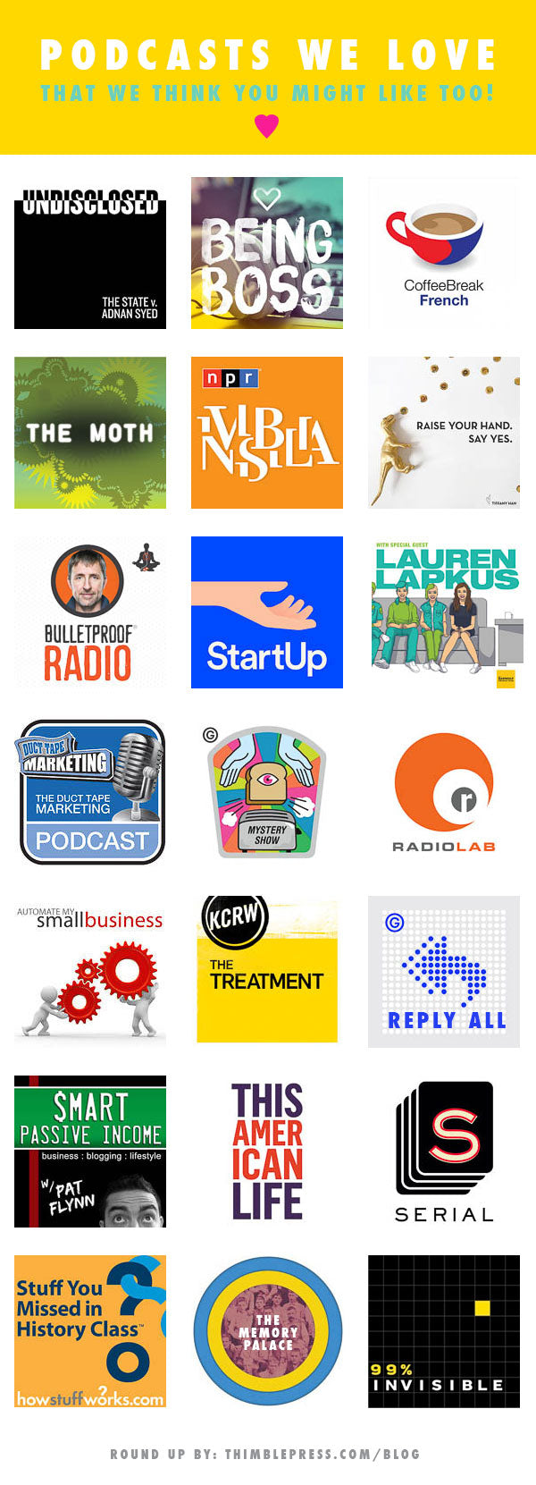 THIMBLEPRESS_FAVE_PODCASTS