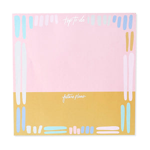 Top To-Do and Future Plans Giant Notepad