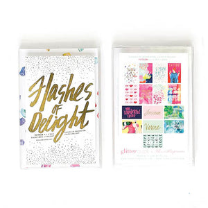 Flashes Of Delight Flash Card Set