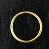 1.65mm Slim Full Round Band - 24k Gold