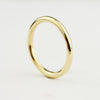 2mm Classic Full Round Wedding Band - 18k