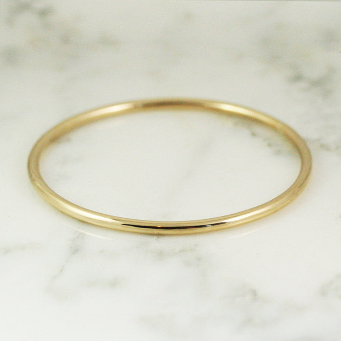 3.25mm Gold Bangle Bracelet - 10k