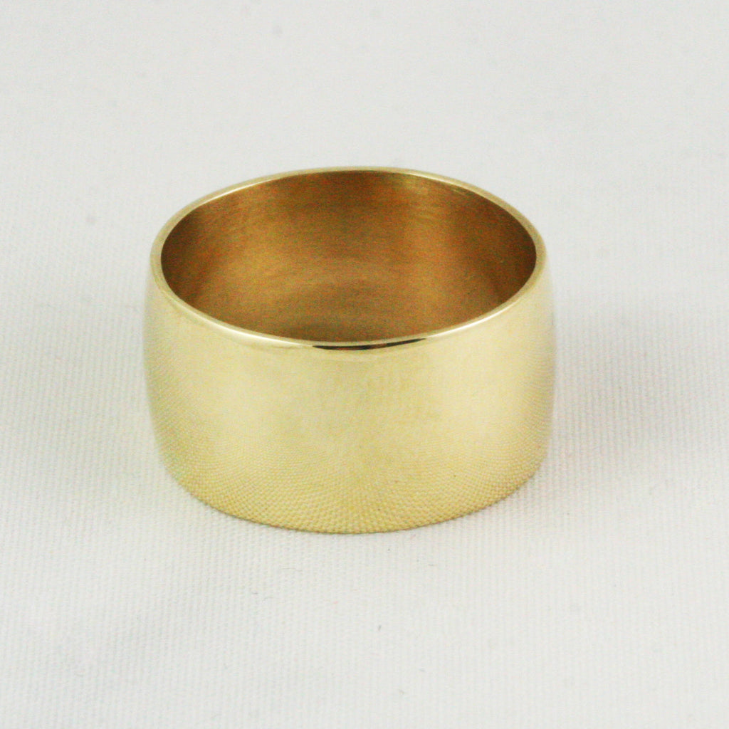 10mm Ultra Wide Cigar Band - 14k
