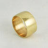 10mm Ultra Wide Cigar Band - 18k