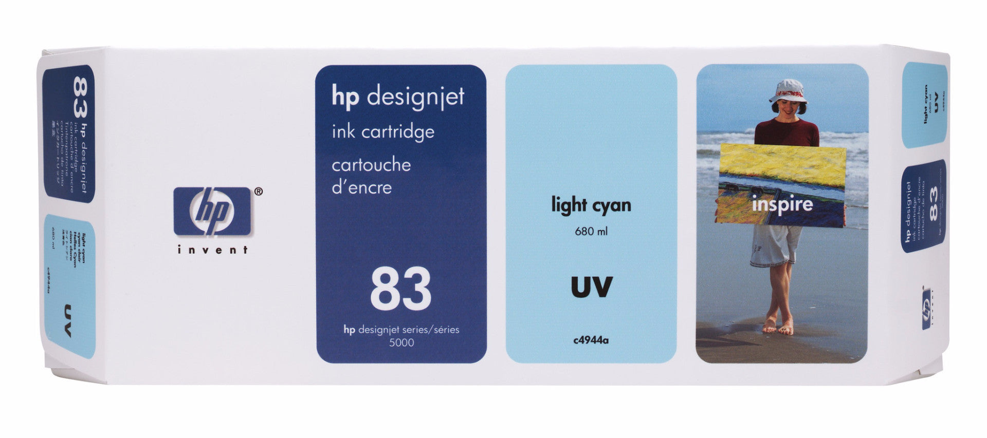 HP UV 83 Designjet Printhead for Designjet 5000 Light Cyan