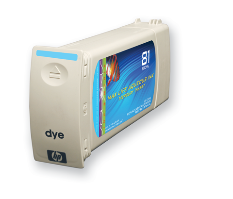 HP 81 Lt Cyan Cartridge